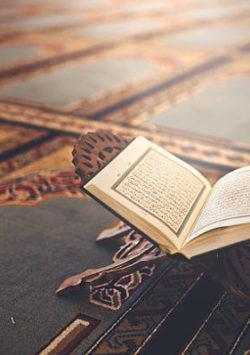 Reciting ten aayaat at night