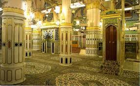 Musjid Nabawi -inside