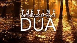 acceptance of duaas