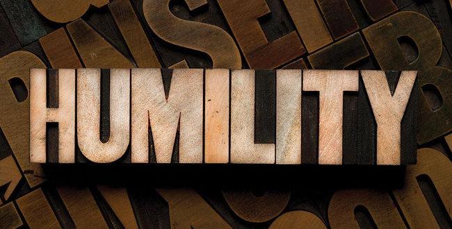 The humility of the true servants of Allah Ta'ala